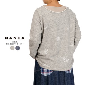Fleece Embroidery Layering Pullover