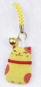 Ornament Crape Cell Phone Charm Cat Ornament