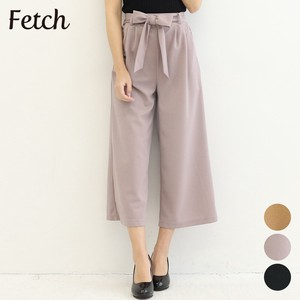 Ribbon Attached wide pants