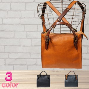 S/S Cow Leather Handbag Backpack Bag 3 Colors