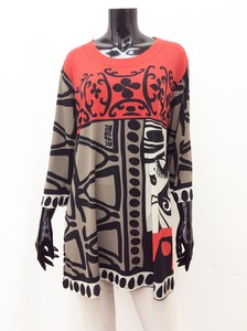 Leisurely Print Line Tunic