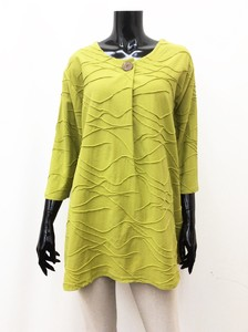 Leisurely Cotton Line Tunic