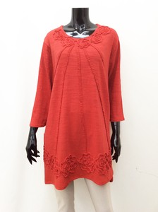 Leisurely Embroidery Line Tunic