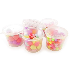 Beads Glitter Assort Cup With Lid