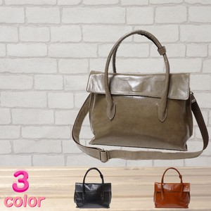 S/S Light-Weight Cow Leather Tote Bag 3 Colors