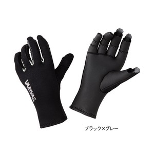 Black Glove Black Gray Glove