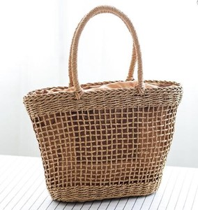 Hand Knitting Tote Bag B5