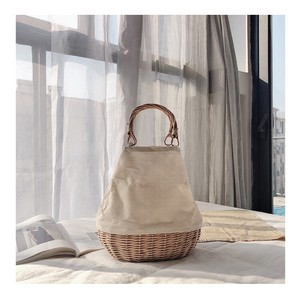 Ladies Hand Knitting Tote Bag B5