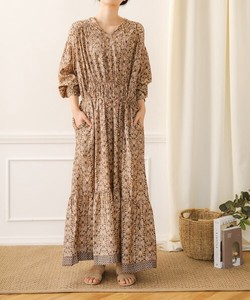 INDIA Oriental Long One-piece Dress