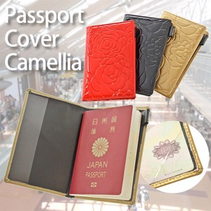 Passport Case Enamel Ladies Cover Holder