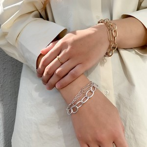 Layer Ring Chain Bracelet
