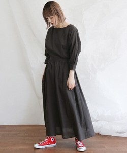 Bat Long Dress