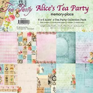 【memory place】MP-60313 6x6Alices Tea Party