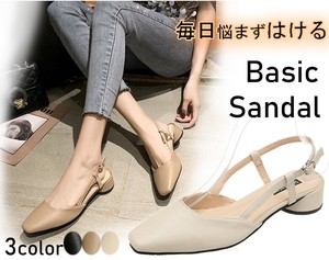 [ 2020NewItem ] Ladies Flat Shoes Pumps Basic Sandal