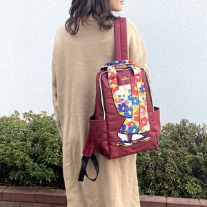 Long-Sleeved Kimono Nylon Backpack