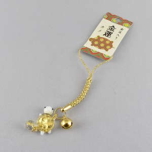 """Glass Figurine Object"" Gold Leaf Cell Phone Charm"