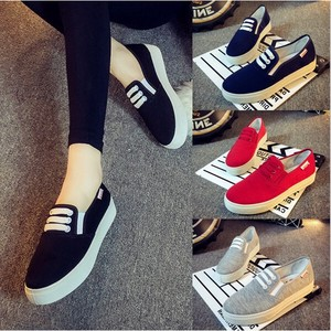 Slippon Canvas Shoes Low-rise Canvas Shoe Color