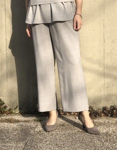 Gaucho wide pants