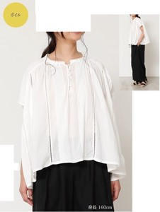 [ 2020NewItem ] pin Tuck Blouse