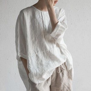 綿麻 ワイシャツ 上着 BLT006