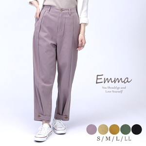 wide pants Tapered Pants 3WAY Rayon Color