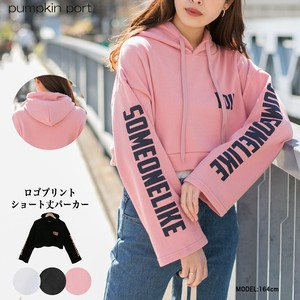 [ 2020NewItem ] Korea Cotton Polyester Print Short Hoody