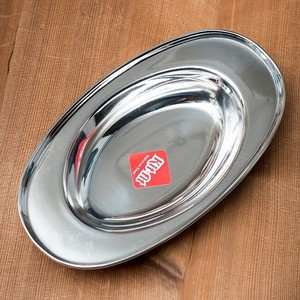 India Stainless Steel Oval Plate