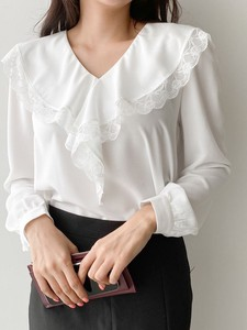 [ 2020NewItem ] Lace Frill Blouse