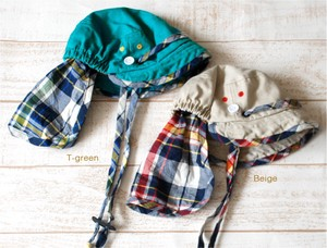 Kids [ 2020NewItem ] Checkered Flap Attached Casquette