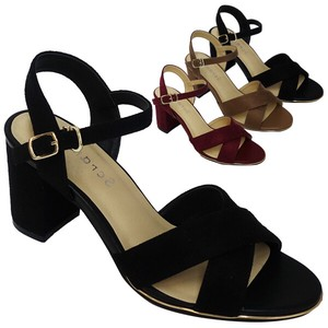 Sandal Closs Belt Ankle Strap Attached Sandal