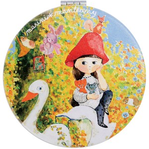 Compact Mirror Red Hat