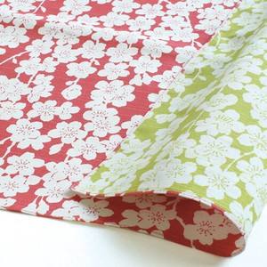 """Furoshiki"" Japanese Traditional Wrapping Cloth Sakura Pink Green"