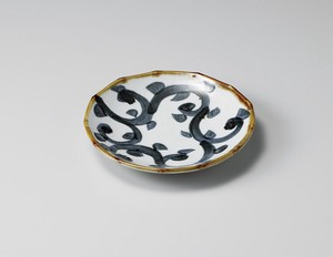 Diamond Arabesque Plate Porcelain