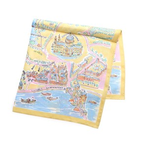 London Map Silk Scarf