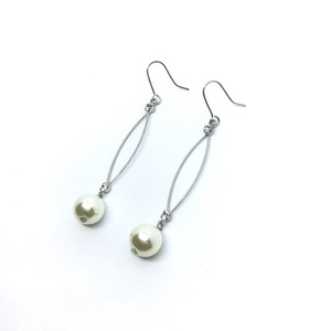 Pearl Long Pierced Earring