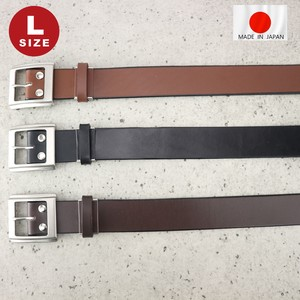 Long Cow Leather Oil Belt Japan