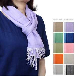 New Color Cotton Double Gauze Scarf Type