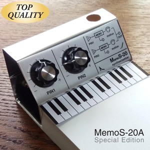 "Memo Pad Aluminium Specification Memo Pad Pen Holder with Synth Knob Pin ""SKP"""