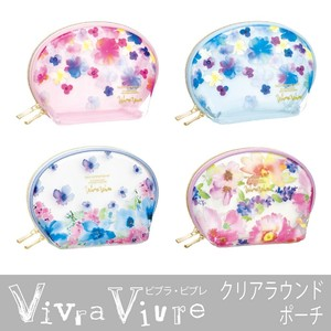 Clear Round Pouch Make Up Pouch Contents Transparency Pouch