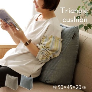 Cushion Triangle Closer Takes Lake Triangle Cushion