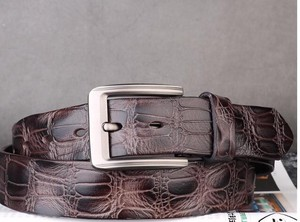[ 2020NewItem ] Men Belt Head Layer Cow Leather Belt