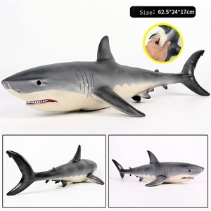 soft Shark Toy Big White shark size L Animal
