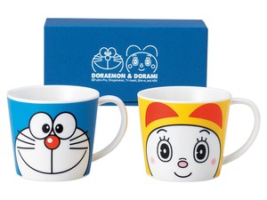 Doraemon Dorami chan Face Pair Mag Cups Set