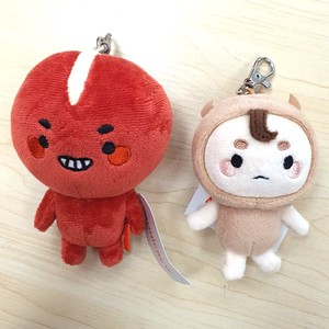 Korea Mascot 2 type Key Ring Soft Toy