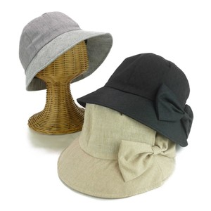 Light-Weight Jacquard Linen Combi Ribbon Ladies Hats & Cap