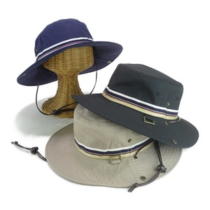 Light-Weight Border Tape Cotton Adventure Hat Young Hats & Cap