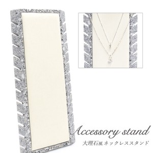 Shop Display Product Necklace Elegance Marble Necklace Stand