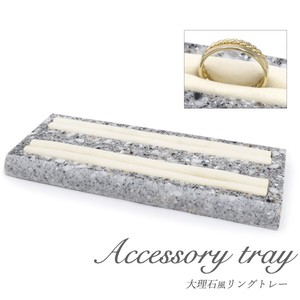 Shop Display Product Ring Elegance Marble Ring Tray