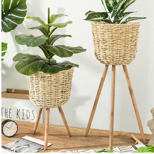 Garden Decoration Flower Vase Plant Stand Flower Pot Holder