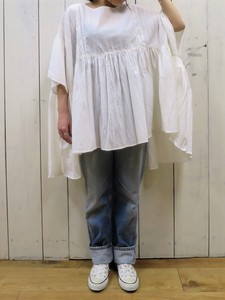 Lace Switch Gather Tunic